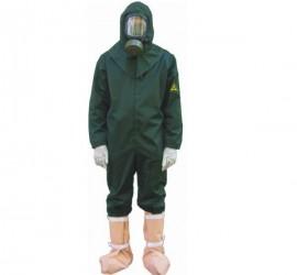 как одевать противочумный костюм инструкция - фото 11